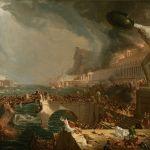 """Thomas Cole (1836) """"El curso del Imperio: destrucción"""""""