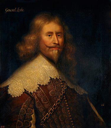 Retrato de Alexander Leslie