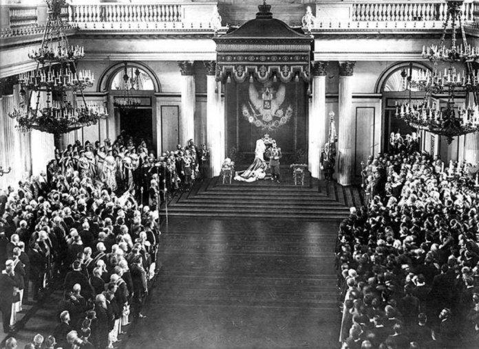 Discurso de Nicolas II en la Duma. Revolución Rusa