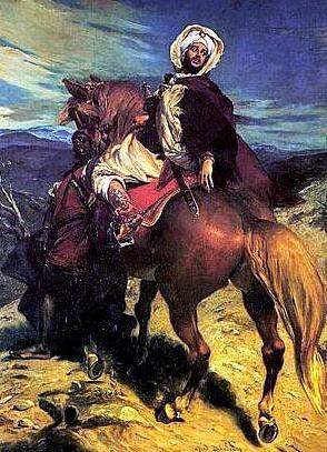The Farewell of King Boabdil at Granada de Alfred Dehodencq