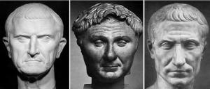 Primer triunvirato: Craso, Pompeyo y César