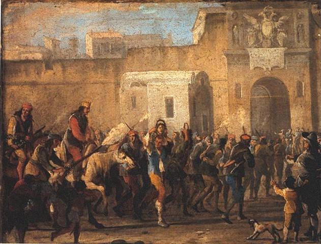 El castigo de los ladrones en época de Masaniello