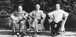 Postdam Conference in 1945