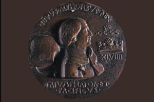 """Medalla de Alfonso V """"El Magnánimo""""."""