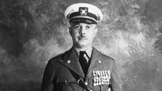 Rafael Trujillo en 1924