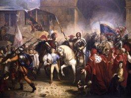 Entrada de Enrique VIII a Florencia