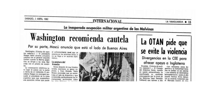La prensa española y la Guerra de las Malvinas
