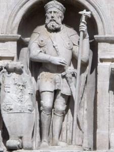 Estatua del conde Diego Rodríguez Porcelos
