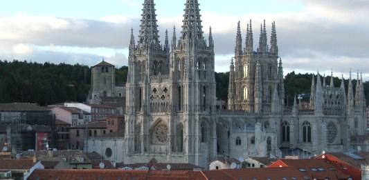 Vista general de la catedral de Burgos
