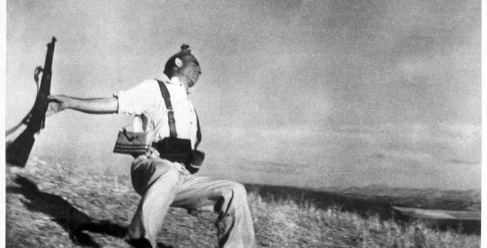 Muerte de un Miliciano. Robert Capa