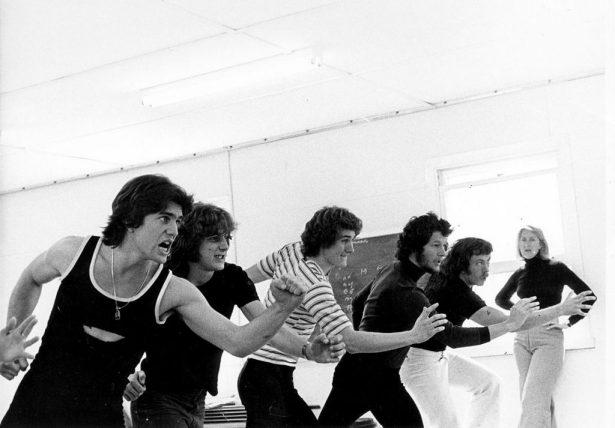 Photograph of 1975 NIDA Acting Class