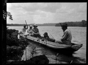 Canoa de Antonio do Ceo, Santa Cruz, Brasil (1912)