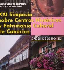 XXI Simposio sobre Centros Históricos y Patrimonio Cultural de Canarias en Santa Cruz de la Palma