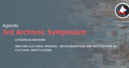 3rd Archivoz Symposium – Agenda