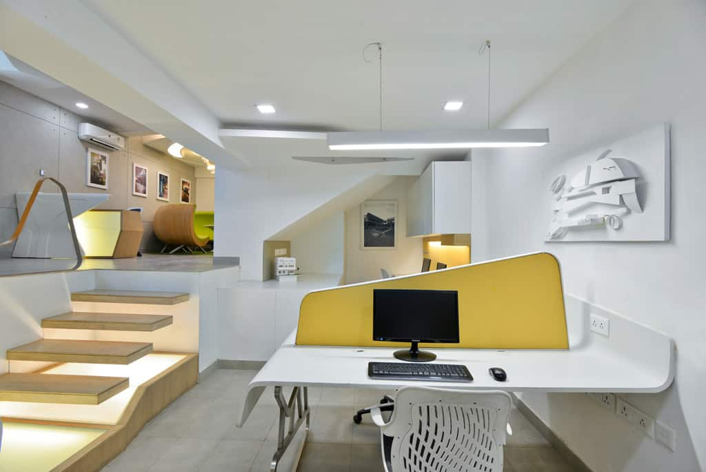 Modern Architecture Office architect's office: spaces architects@ka convert a basement space