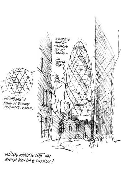 The Gherkin Fosters Monumental Building In Heart Of