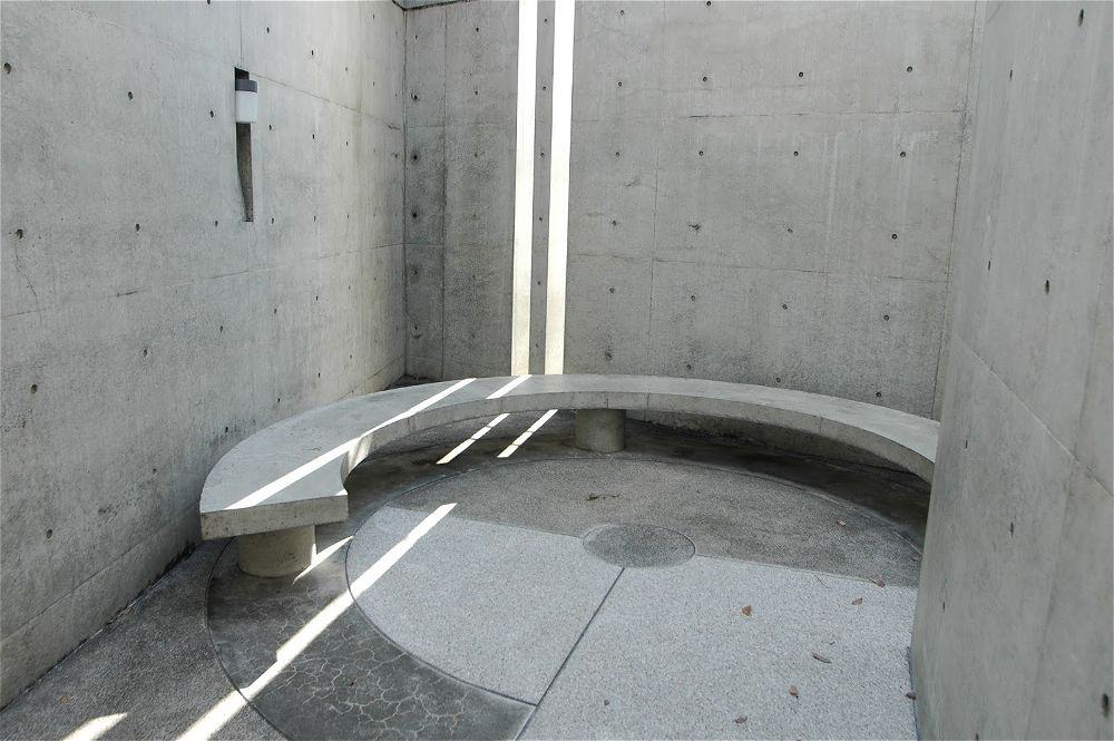 corner kitchen bench with storage outdoor cabinets kits church of the light by tadao ando | archute