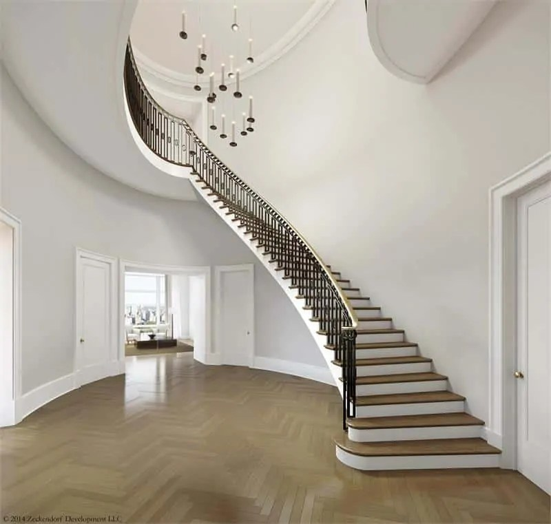 520 Park Avenue by ramsa staircase