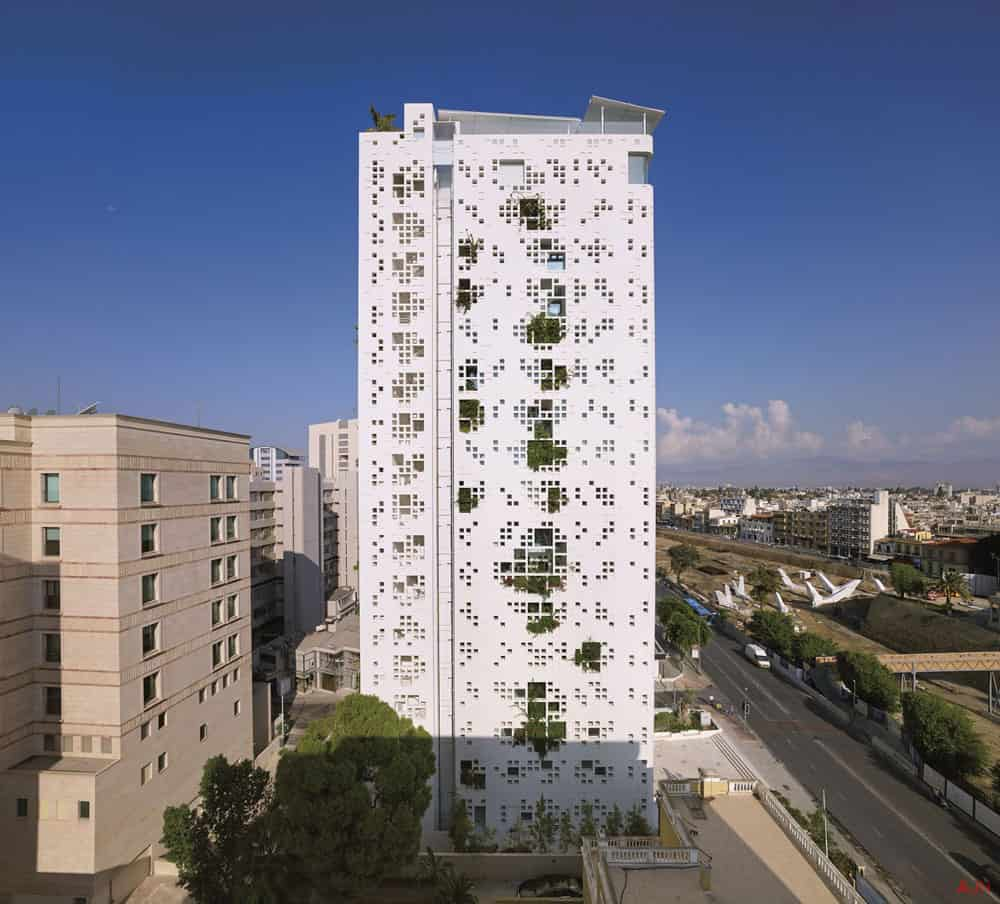 White walls in Cyprus by Ateliers Jean Nouvel 12