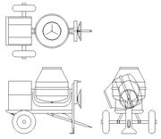 Veicoli e attrezzature di cantiere dwg
