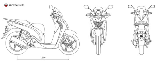 Scooters dwg