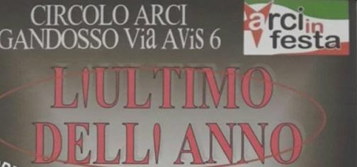 CAPODANNO AL CIRCOLO ARCI GANDOSSO!