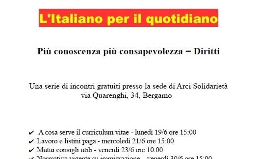L'italiano per il quotidiano