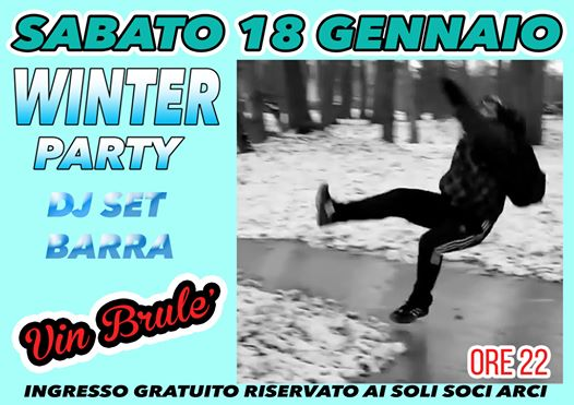 Winter Party dj set Barra