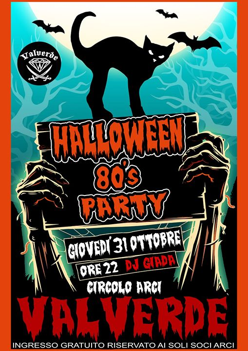Halloween 80's Party