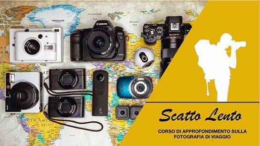Scatto Lento - corso di fotografia di viaggio