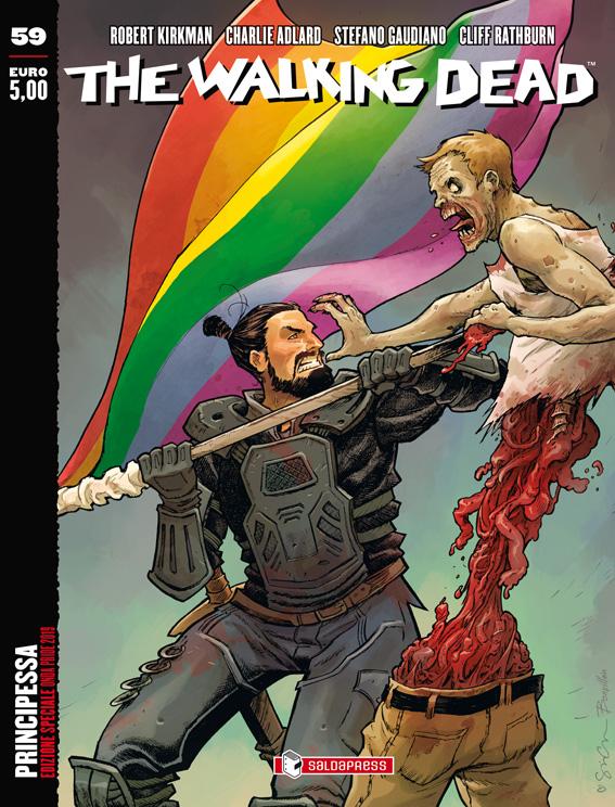 Fumetti, The Walking Dead sconfigge l'omofobia e sostiene l'Onda Pride
