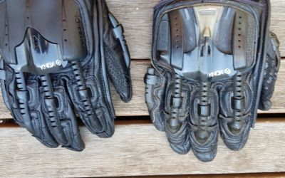 Knox Handroid mark IV motorcycle gloves – first take