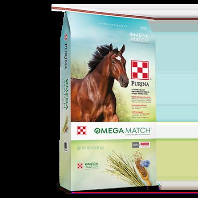 Purina Omega Match Feed 40-lb Bag