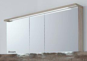 Puris Star Line Spiegelschrank 160 cm weiß