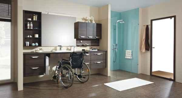 Bodengleiche Dusche  Behindertengerecht