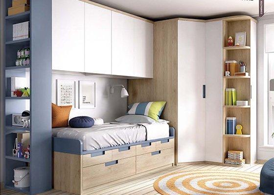 Habitaciones Juveniles y Dormitorios Infantiles  Arcomuebles2019