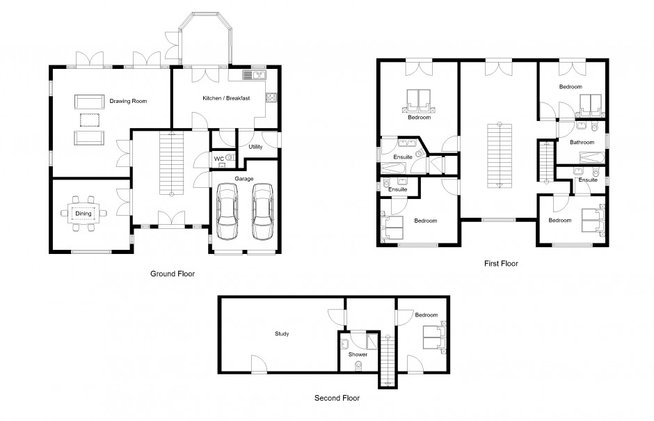 Powerful 2D and 3D architectural CAD software: 2D Drawing