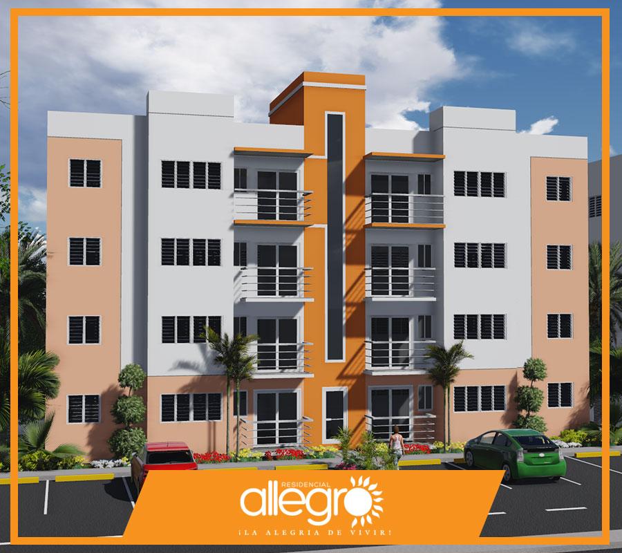 Apartamentos en venta en Santiago de los Caballeros RD Res Allegro 1