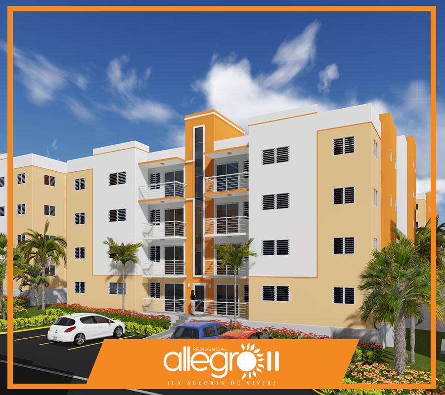 Apartamentos en venta en Santiago RD Residencial Allegro II