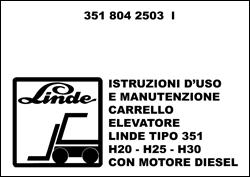 Manuale uso e manutenzione carrello elevatore