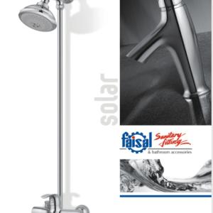 Faisal Sanitary Solar lever bath room set 3807