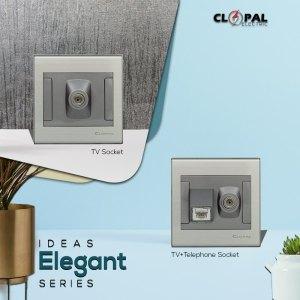 tv telephone socket sheet elegant clopal