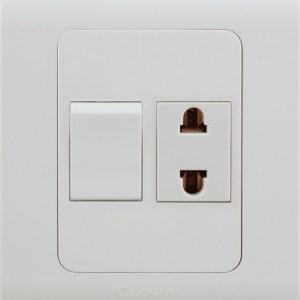 1 switch 1 socket sheet clopal type r