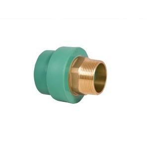 ppr brass male adapter