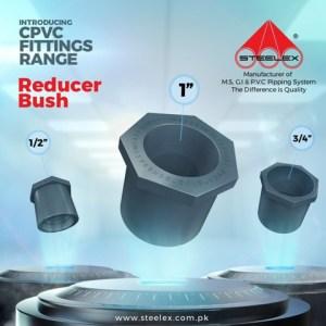 """Steelex cpvc reducer Bush 3/4"""" x 1/2"""""""