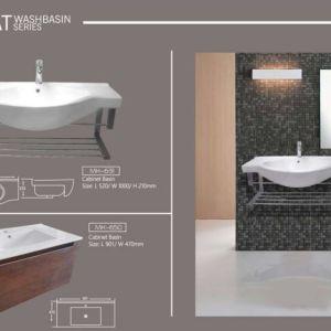 Cabinet Wash Basin Marachi MK631-MK650