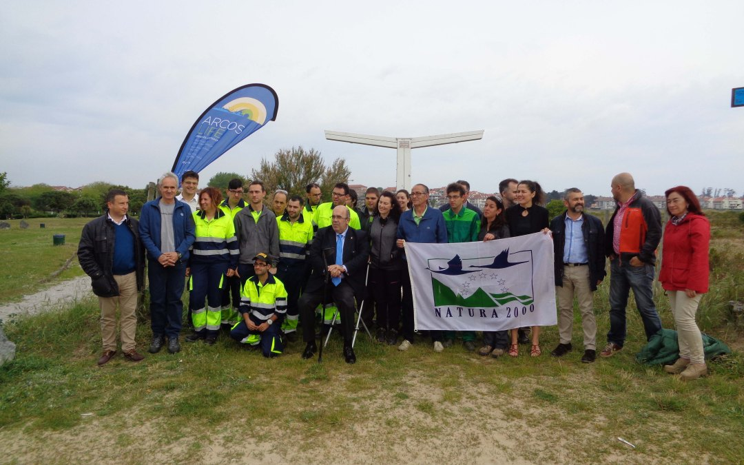 LIFE ARCOS project commemorates the European Day of the Natura 2000 Network with volunteer activities in Cantabria