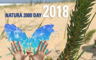 Excited to celebrate Natura 2000 day in May 2018