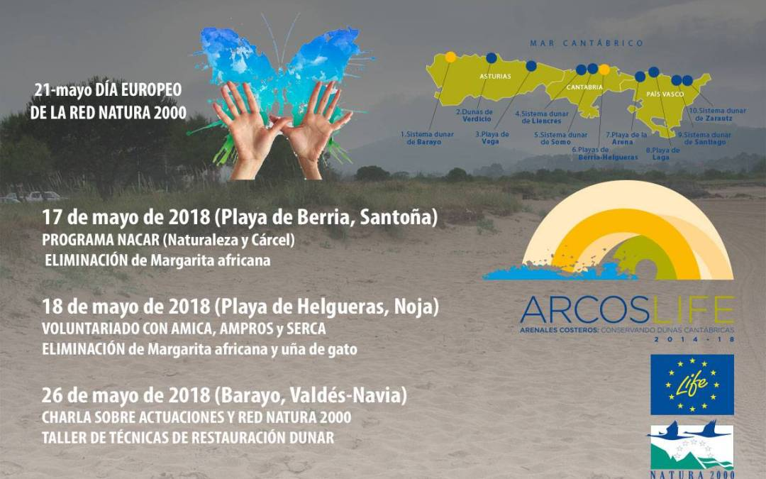 Life+ARCOS celebrates the Natura 2000 day. Join us!