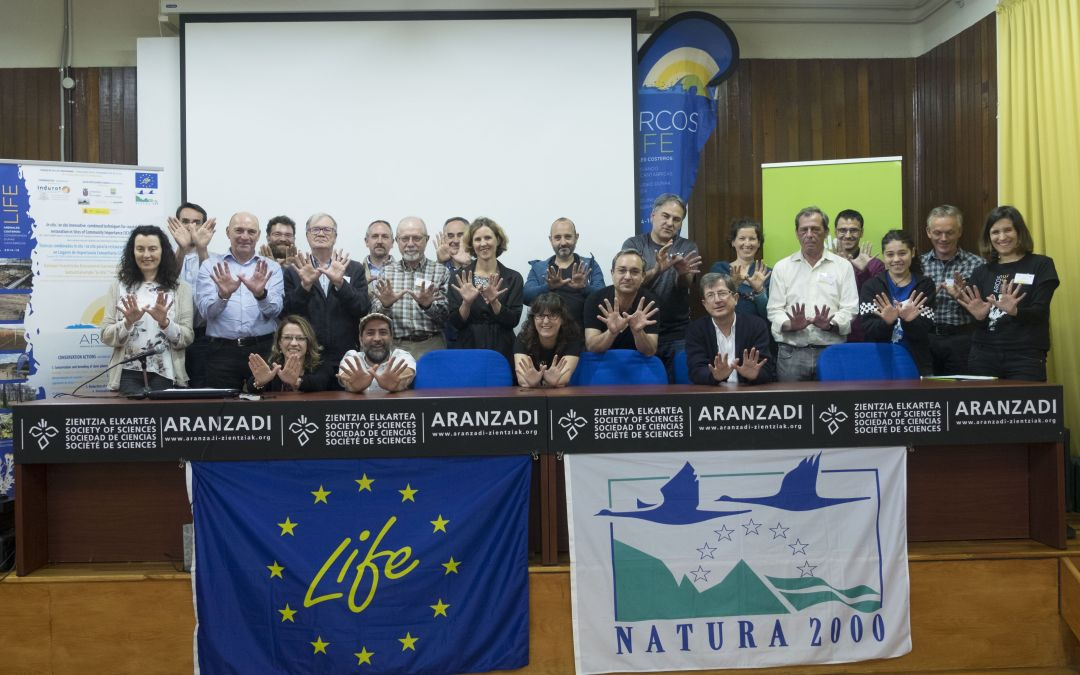 This is how the Final Life+ARCOS Seminar went, held in Donostia (1/2)